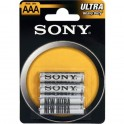 Batterie zinco carbonio Sony AAA Blister 4PZ