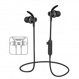Auricolare Bluetooth 4 2 con microfono e micro sd slot nero