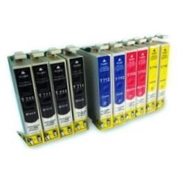 Kit Compatibili Epson T1281 T1281X4-T1282X2-T1283X2-T1284X2