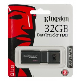 Pen Drive USB 3 0 DT100G3 32GB Kingston