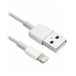 Cavo Lightning Vultech SM-T62WH MFi per Apple 2m Bianco