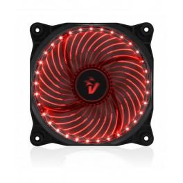 Ventola di raffreddamento Vultech con Star Led Rosso 12cm