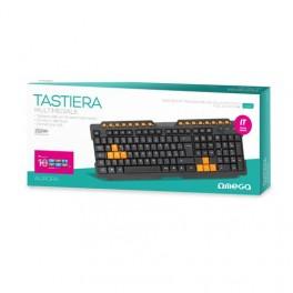 Tastiera Italiana USB Multimediale
