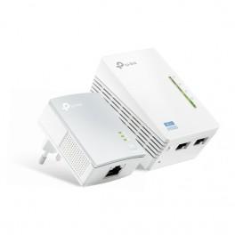 Kit 2 Powerline WiFi 2 4GHz AV600 2 1 porte LAN TL-WPA4220