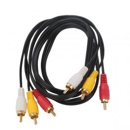 Cavo Audio Video Stereo 3 rca to 3 rca 1,5 metri