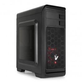 Case Atx Vultech Gaming Darkline GS-0285RD ventola rossa