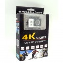 Camera 4K Sport Wi-Fi Action Camera UHD 16MP 30M Subaquea