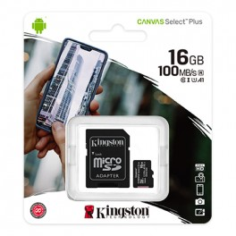 SDCS2 16GB microSDHC SDXC UHS-I Calsse 10 Kingston