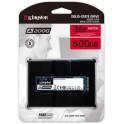 SSD Kingston 500GB SATA3 M 2 2280 NVMe SA2000M8 500G