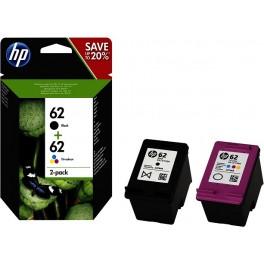 Multipack Cartucce HP 62 Nero e Colore Combo pack N9J71AE